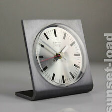alte Tisch Uhr Kienzle Design Junghans Quartz Werk 70er Jahre vintage mantel clo