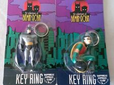 THE ADVENTURES OF BATMAN & ROBIN KEY RING HAPPINESS EXPRESS CLUB