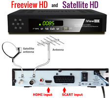 UK FULL HD COMBO Freeview HD & Satellite HD Receiver HD RECORDER TV Set Top Box