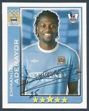 TOPPS 2010 PREMIER LEAGUE - #290-MANCHESTER CITY & TOGA-EMMANUEL ADEBAYOR