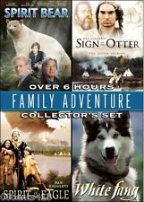 Spirit Bear - Sign of the Otter- Spirit of the Eagle - White Fang (4 Movie DVD)