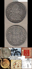 Mexico 8 Reales 1809 CHINESE CHOPMARKS CHINESISCHE GEGENSTEMPEL (T21)