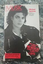 Michael Jackson BAD Album Music For Columbia Records & Tape Club Members