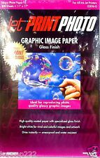 1 CASE OF 11x17 JET PRINT PHOTO GLOSSY PHOTO PAPER. GET 120 SHEETS PER CASE.