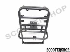 BRAND NEW VESPA PX LML STAR STELLA BLACK REAR RACK  FOLDING CARRIER