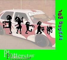 Zombie Familie Sticker Aufkleber leider geil gscheid JDM Hater