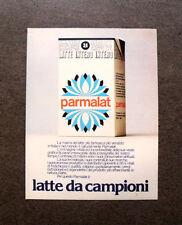 [GCG] I169- Advertising Pubblicità -1984- PARMALAT LATTE DA CAMPIONI