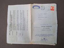 Hong Kong Cover Air Mail 1972 Jotina Fashion Advert US Market. Postal History