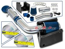 BCP BLUE 05-08 Ford F150 5.4L V8 Cold Air Intake Racing Induction Kit + Filter