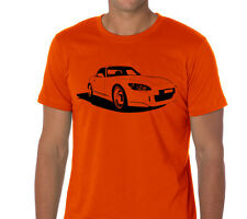 Car T-shirt Honda S2000 AP2 roadster racing CR gift rims jdm type r drift AUT043