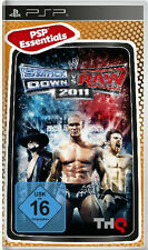 PSP Essentials Spiel WWE SmackDown vs. Raw 2011 Smack Down W vs Raw Wrestling Ne
