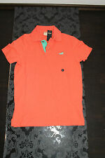 TOP HOLLISTER Men's Polo Shirt Red or Orange all sizes new with label