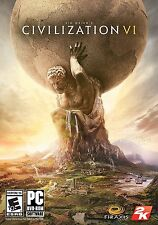 Sid Meier's Civilization 6 VI PC DVD NEW!