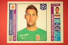 PANINI CHAMPIONS LEAGUE 2014/15 N. 246 STEKELENBURG MONACO BLACK BACK MINT!