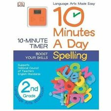 10 Minutes a Day: Spelling, Second Grade, DK Publishing