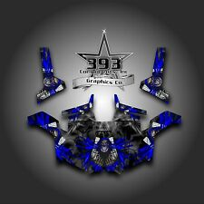 Polaris RZR 800 UTV Graphics Decal Wrap 2011 - 2014 UNLEASHED Blue