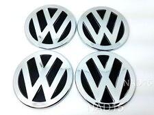VW Nabenkappen Felgendeckel Nabendeckel Aufkleber Emblem 4 Stück 60mm 3D