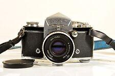 Ihagee Dresden Exakta VX SLR camera w/Zeiss Jena pancolar 50mm f2 lens,