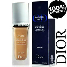 100% AUTHENTIC DIOR NUDE Natural Glow HYDRATING FOUNDATION MAKEUP  051 DARK SAND