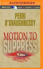 Nina Reilly: Motion to Suppress 1 by Perri O'Shaughnessy (2015, MP3 CD,...
