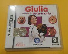 Giulia Passione Veterinaria GIOCO NINTENDO DS