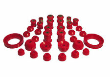 PROTHANE 92-96 Honda Prelude Total Complete Suspension Bushing Kit (RED)