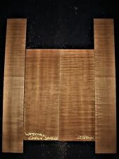 Guitar Luthier Tonewood WATERFALL QUILT FIGURED SAPELE Acoustic backs sides SET