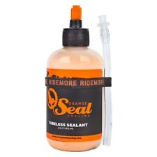 OrangeSealCycling Tubeless Tire Sealant with Injector, 4-Ounce