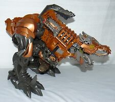 TRANSFORMERS AGE OF EXTINCTION GRIMLOCK STOMP & CHOMP DINOSAUR MONSTER TOY