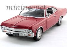 WELLY 22417 1965 65 CHEVROLET IMPALA SS 396 1/24 DIECAST RED