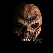 Adult Latex Scary Half Face Mask Ghost Horror Halloween Party Dress Costume Prop