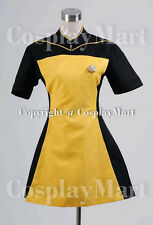 Star Trek TNG  Yellow Skant Uniform Costume