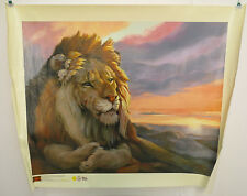 CLANCY CHEERY THE WISDOM OF SOLOMON CANVAS LION IGI PAINT ART 11635 MASTER COOL