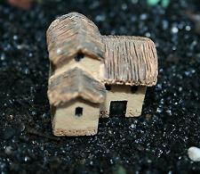 MINIATURES Cute 2 Storey Cottage*plus MOSS* Fairies Gardens,Bonsai,Terrariums