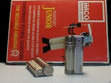 RARE ORIGINAL PETROL LIGHTER IMCO 6600 TRIPLEX SUPER OLD STOCK