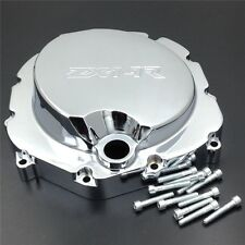 Engine Clutch Cover For Kawasaki Zx14R Zzr1400 06-14 Chrome Right Billet Aluminu