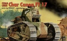 LIGHT TANK Char Canon Renault FT-17 with Berliet Turret, RPM 72204, SCALE 1/72