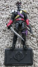 G.I. JOE IRON KLAW FSS 1.0 COLLECTOR CLUB EXCLUSIVE 25TH ANNIVERSARY