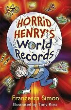 Horrid Henrys World Records,VERYGOOD Book