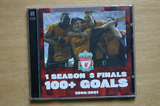 Liverpool FC - 1 Season, 3 Finals, 100+ Goals - 2CD - 2000/2001 The Treble (C86)