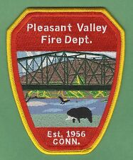 PLEASANT VALLEY CONNECTICUT FIRE DEPARTMENT PATCH