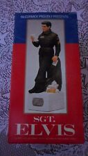"""Elvis Presley McCormick Music Box Decanter Army SGT.Original"""" BOX ONLY, NO DOLL"""""""
