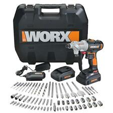 WX176L.1 WORX 67 pc. 20V Lithium Switchdriver Cordless Drill & Driver Set