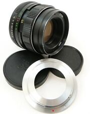 SERVICED HELIOS 44m-4 USSR Lens Canon EOS EF Mount 100 D 700 750 760 70 80 44-2