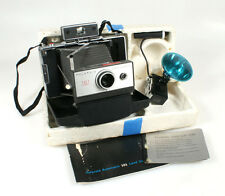 POLAROID LAND CAMERA 101 AUTOMATIC W/ MANUAL AND FLASH MODEL 268 ((FOR PARTS))