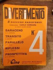 """SPARTITO """"SARACENO"""" + """"TRANSITO"""" + """"PARALLELO"""" + """"RIFLESSI"""" + """"PROSPETTIVA"""""""