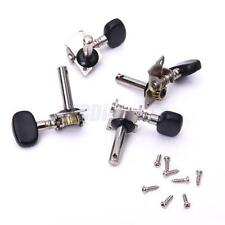 4 TUNING PEGS PIN MACHINES heads TUNERS 2R 2L. w 8 scres UKULELE 4 string Guitar