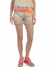 MAISON SCOTCH SURF INSPIRED PASTEL BOYFRIEND SHORTS W27 8 36 4 £85!