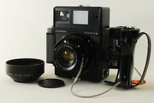 EXC+++++! Mamiya Universal Press Black w/Sekor 100mm, F3.5,6x7 Holder, Grip #502