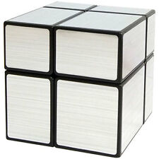 ShengShou 2x2x2 Mirror Block Magic Cube Silber